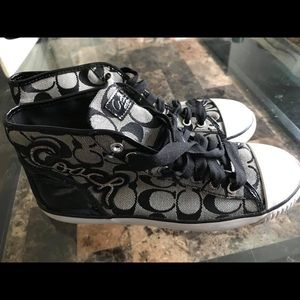 Shoes - Coach sneakers! Size 8 1/2